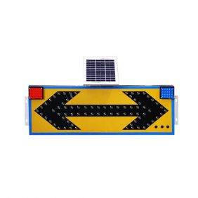Solar flashing sign light